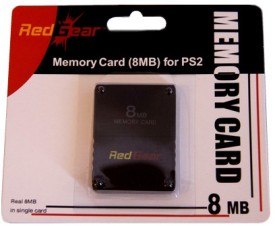 Red Gear 8MB Memory Card (For PS2)