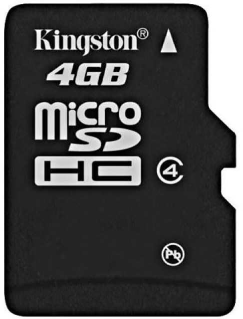Kingston 4 GB MicroSD Card Class 4 4 MB/s  Memory Card