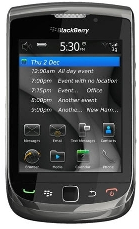View Blackberry Torch 9800 (Black, 4 GB) Mobile Price Online(BlackBerry)