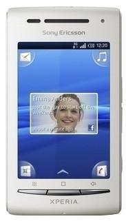 Sony Ericsson Xperia X8 (White, 128 MB)