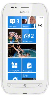 Nokia Lumia 710 (White, 8 GB) White