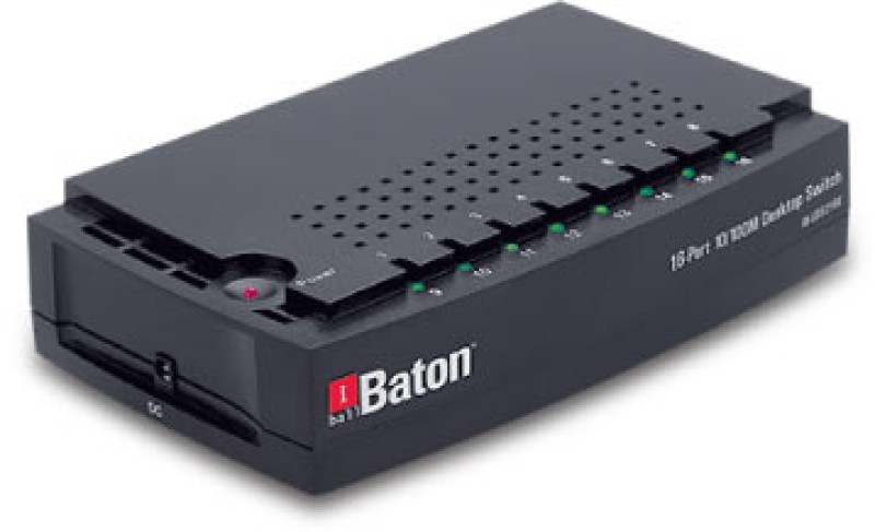 Iball 16-Port 10/100M Desktop Switch Network Switch(Black)