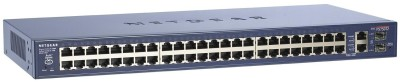 Netgear ProSafe 48-port Smart Switch with 2 Gigabit Ports Network Switch