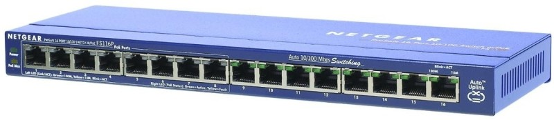 Netgear 16 Port POE Switch Network Switch