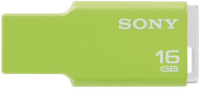 View Sony Micro Vault Tiny 16 GB Pen Drive(Green) Price Online(Sony)