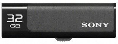 View Sony Micro Vault USM32GN 32 GB Pen Drive(Black) Price Online(Sony)