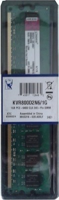 Kingston DDR2 1 GB PC DRAM (KVR800D2N6/1...