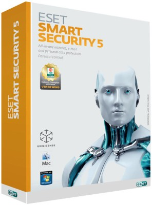Eset Smart Security Version 5 1 PC 1 Year