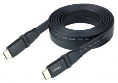 Nitho High Speed HDMI Cable Flat 360