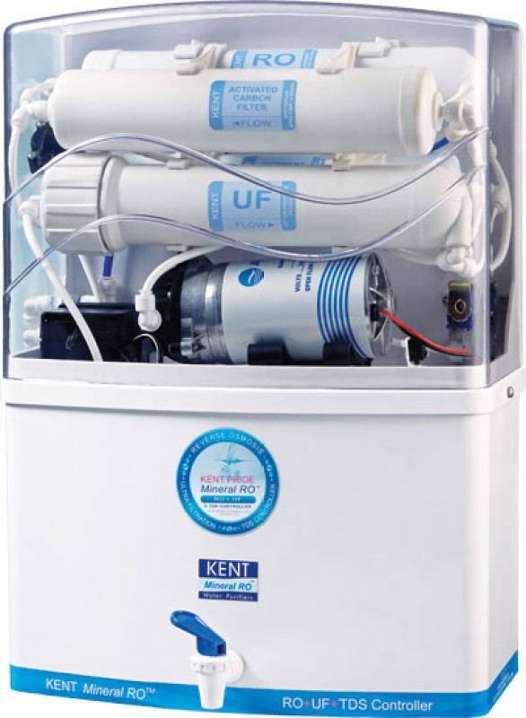 Kent Pride 8 L RO + UF Water Purifier(White &...