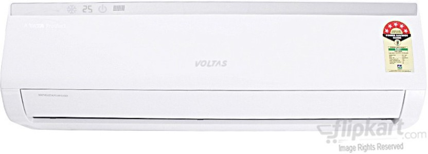 Voltas 1.5 Ton 5 Star BEE Rating 2017 Split AC  - White