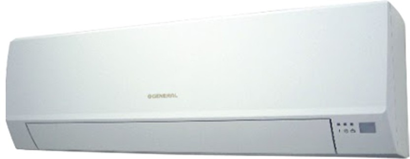 O General 1 Ton 3 Star Split AC  - White
