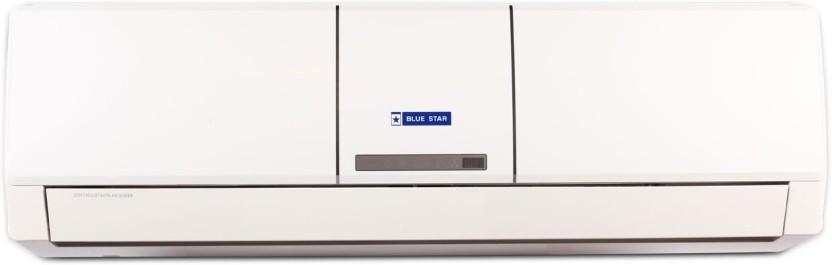 Blue Star 1 Ton 5 Star Split AC  - White