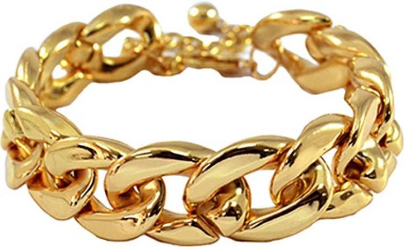 FemNmas Golden Trendy Chain Alloy Anklet