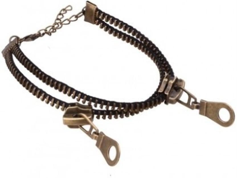 FemNmas Zipper Alloy Anklet