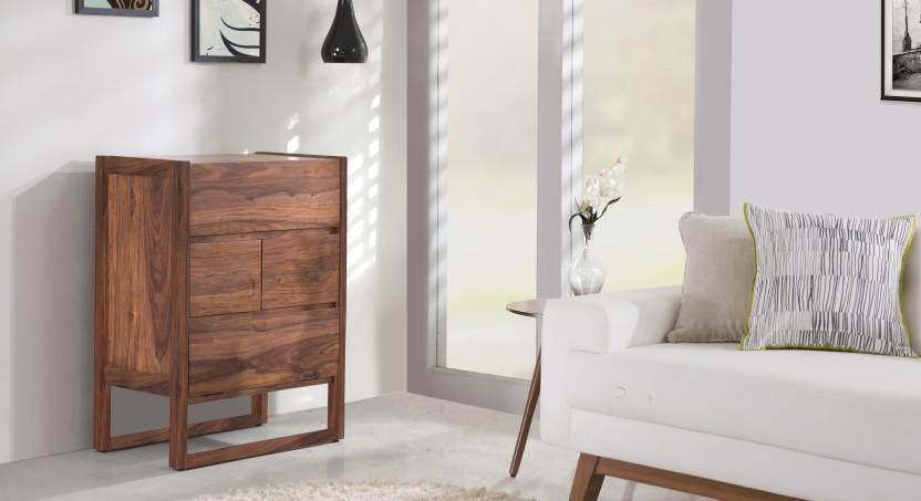 Urban Ladder Macallan Solid Wood Bar Cabinet