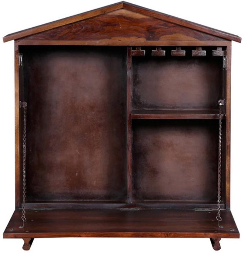 Ringabell Aperitif Solid Wood Bar Cabinet