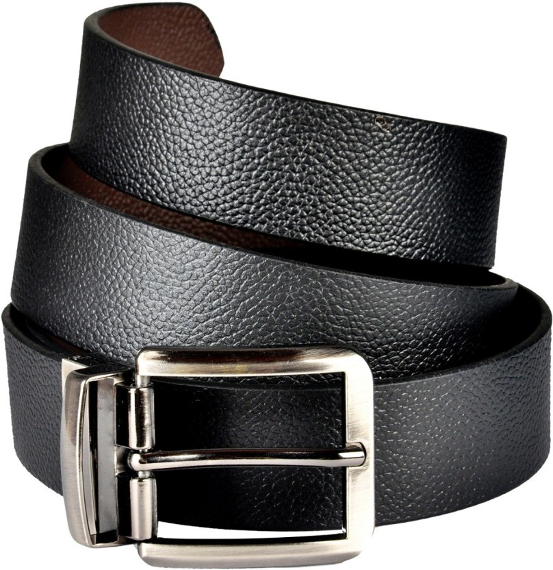 Saugat Traders Men Formal, Casual, Evening, Party Black, Brown Genuine Leather Reversible Belt