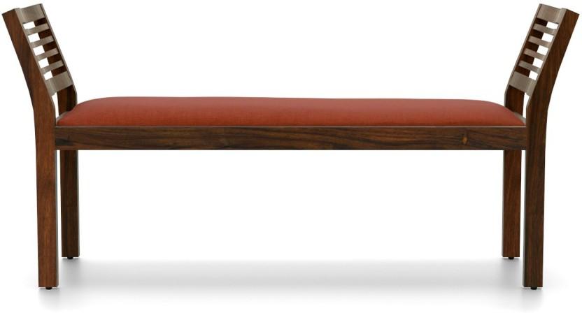 Urban Ladder Latt Upholstered Solid Wood 2 Seater