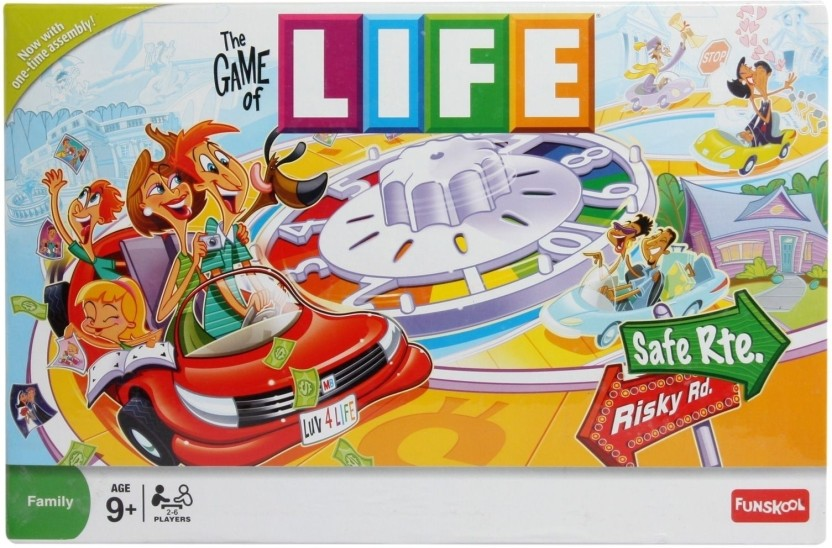 Funskool The Game of Life Twists & Turns Board Game
