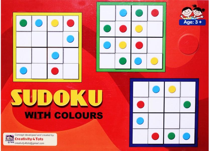 Creativity 4 Tots Sudoku Game Board Game