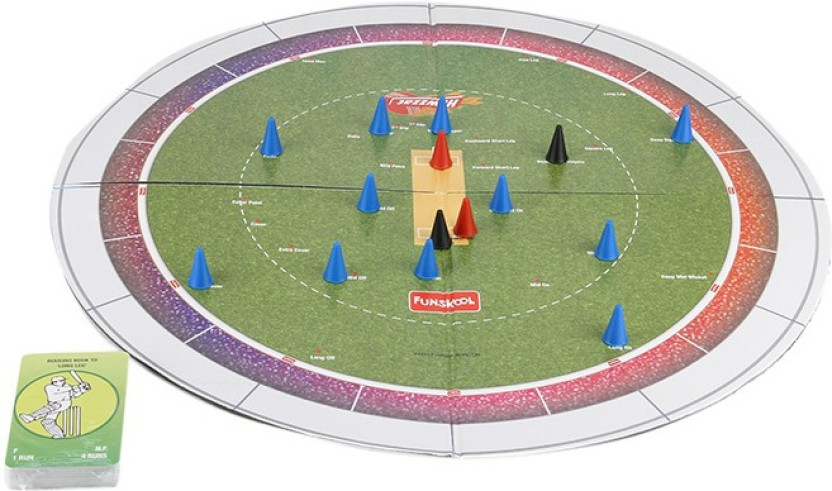 Funskool Cricket (Howzzat) Strategy Game Board Game