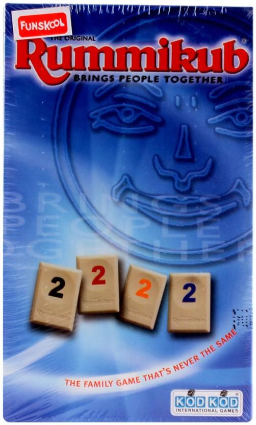 Funskool Rummikub Mini Numbers Game Board Game
