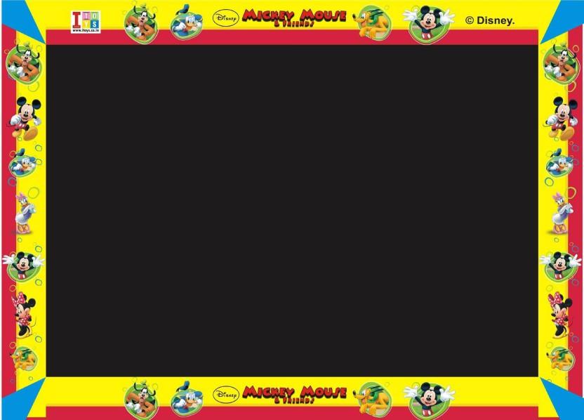 Disney Mickey Mouse & Friends My First Blackboard, Write & Wipe Whiteboard Board Game