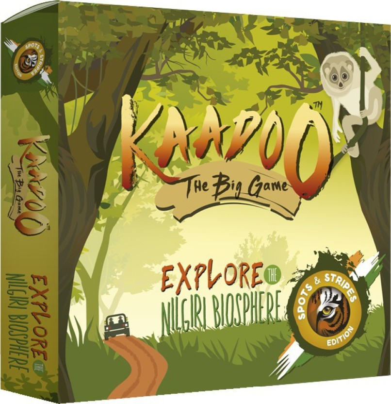 Kaadoo Spots & Stripes Edition Board Game