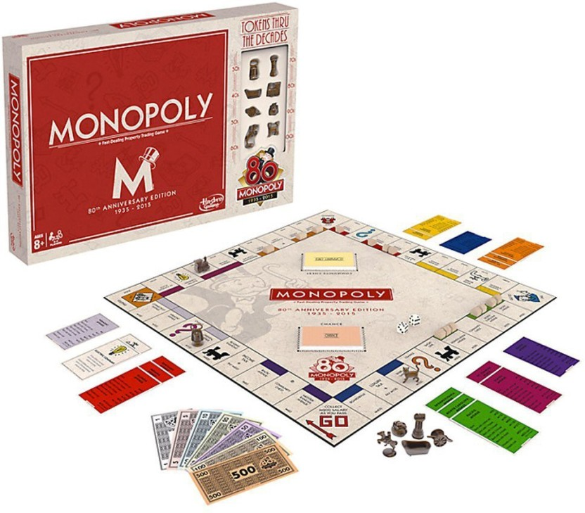 Funskool Monopoly 80th Anniversary Edition Board Game