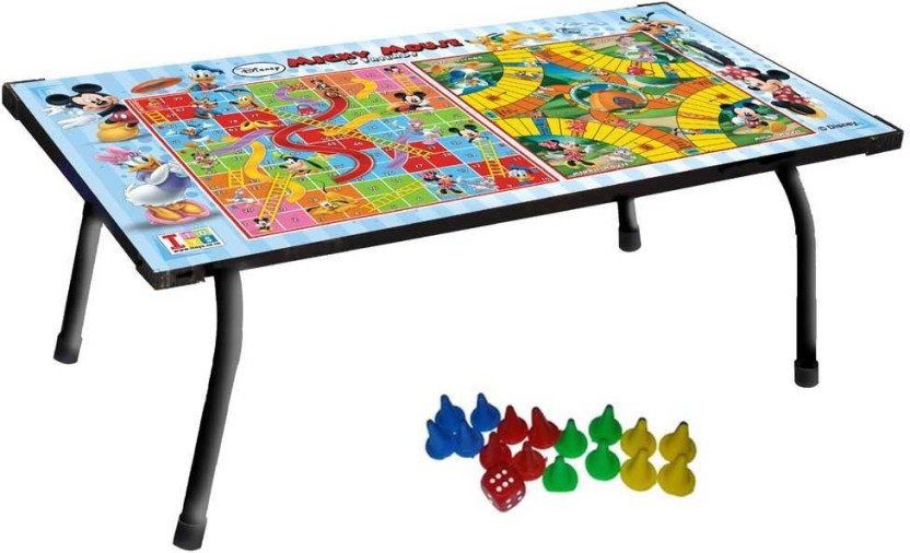 Disney Mickey Mouse & Friends Multipurpose Table & Game Board Game