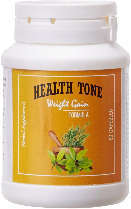 Health Tone Health Tone Herbal Weight Gain Capsules (90 Caps)