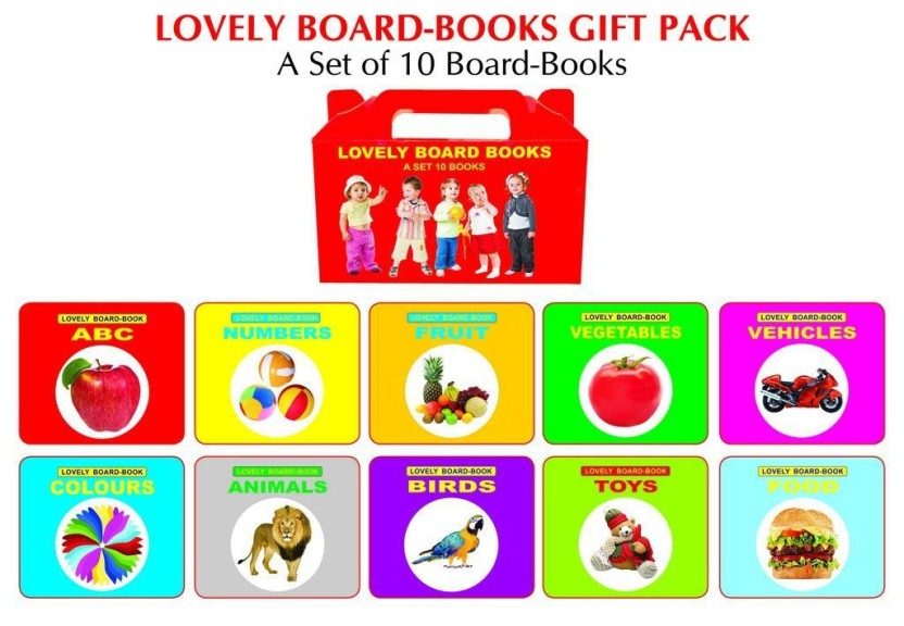 Lovely Board Books Gift Pack (10 Titles)