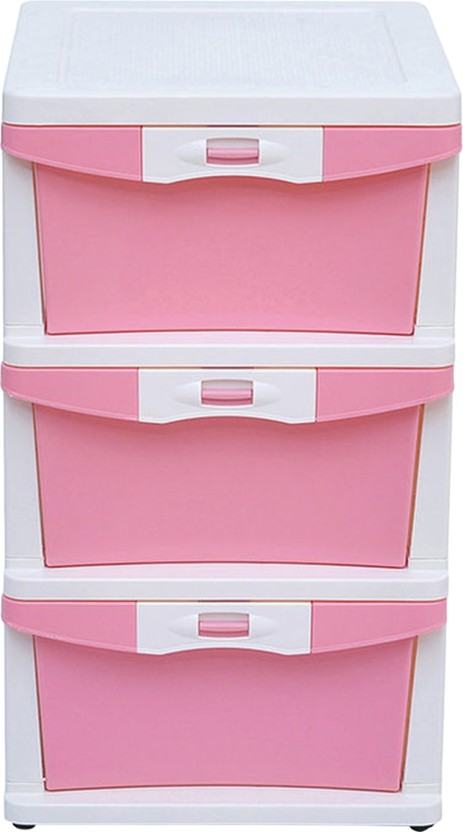 @home by Nilkamal Plastic Free Standing Chest of Drawers