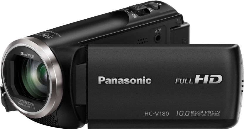 Panasonic HC-V180 Full HD 28mm WIDE LENS Camcorder Camera