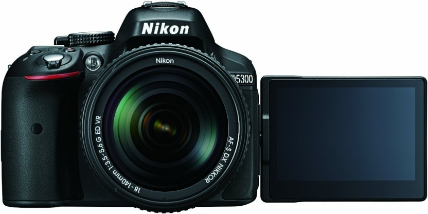 Nikon D5600 DSLR Camera Body with Single Lens: AF-P DX Nikkor 18-55 MM F/3.5-5.6G VR (16 GB SD Card + Camera Bag)