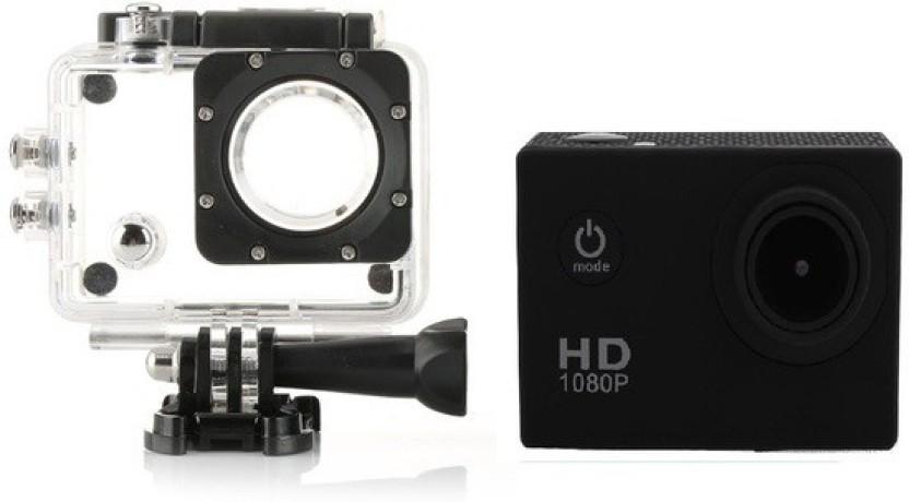 Wonder World ® Waterproof Helmet HD 1080p Cam Holder Sports & Action Camera