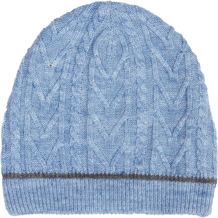 Yuvi Striped Beanie Cap
