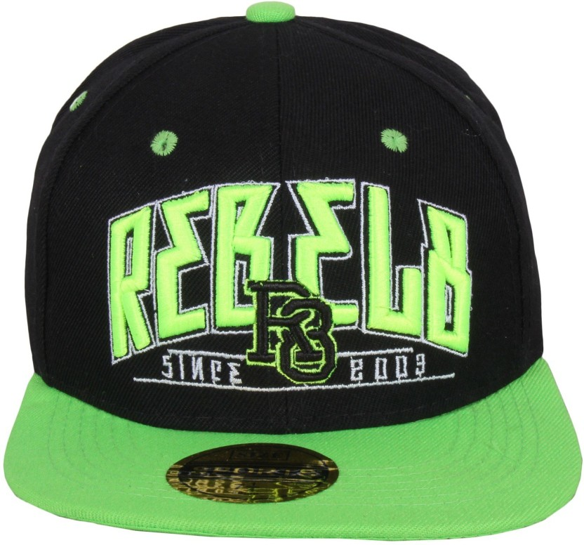 Sushito Green Hip Hop Solid Fancy Sports Hip Hop Cap