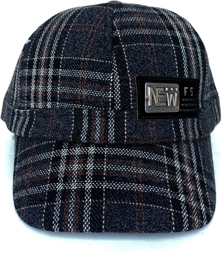 Tiny Seed Self Design, Solid, Checkered, Embellished Snapback, Skull Cap