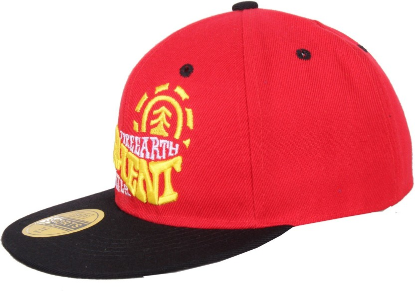 Sushito Funky Red Hip Hop Solid Baseball Cap