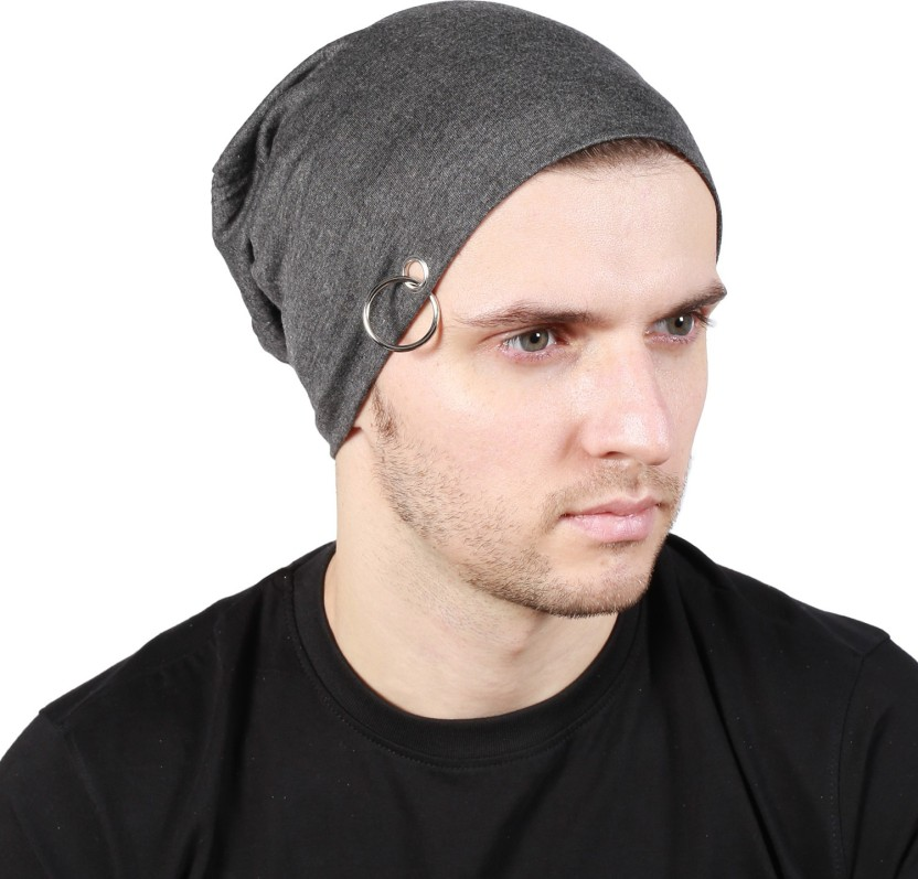 Noise Coal Grey Solid Skull Cap