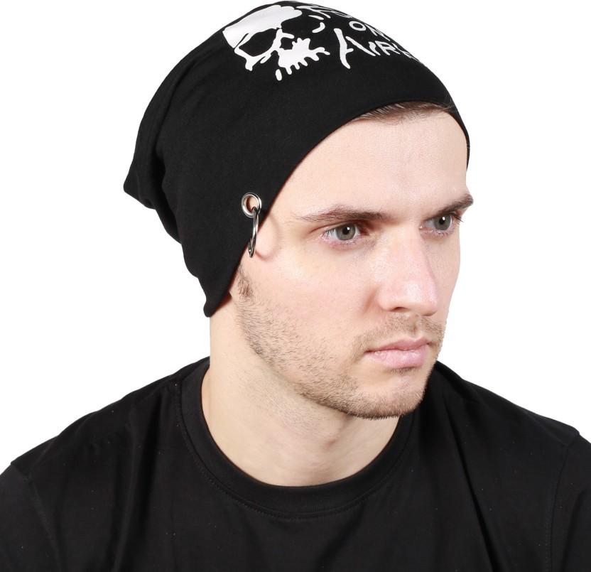 Noise Raw Earth Beanie Printed Skull Cap