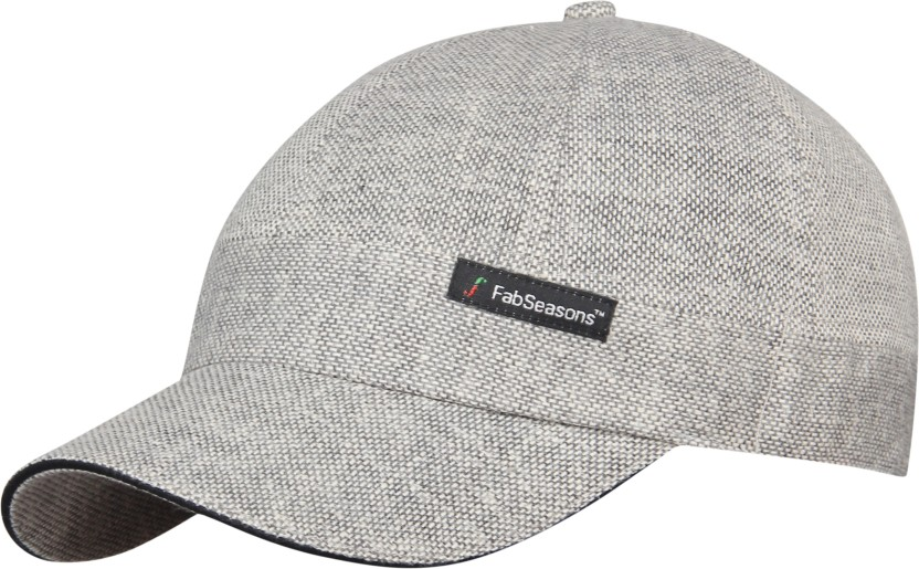 FabSeasons Self Design Short Peak Cap Cap