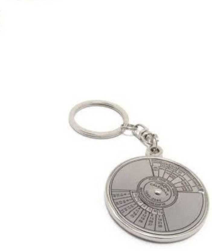 Phoenix Calender Metal Key Chain