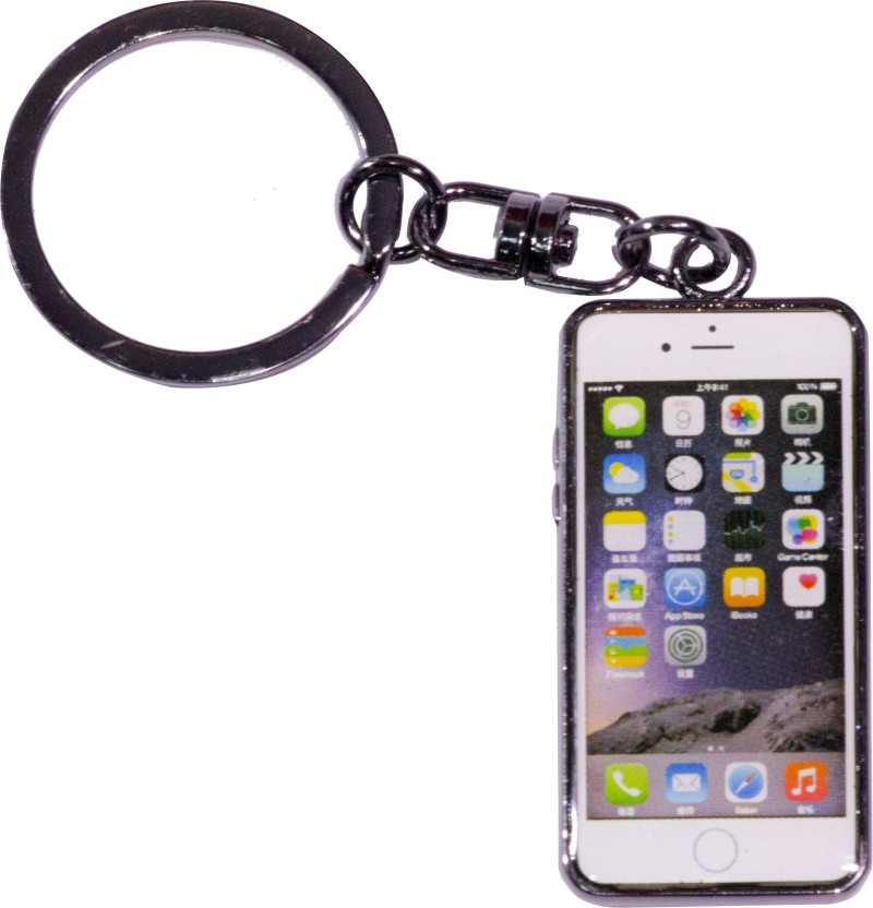 Oyedeal Iphone Shape Space Grey KYCN1682 Key Chain
