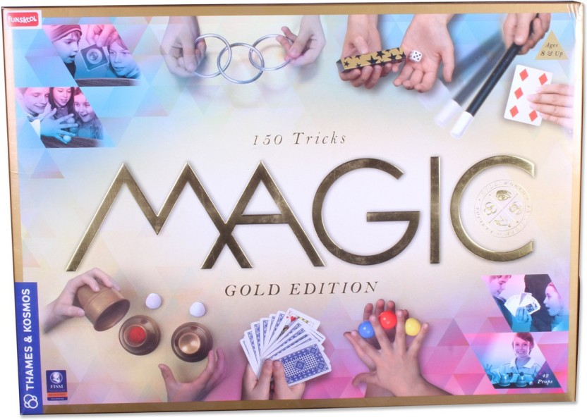 Funskool Thames and Kosmos Magic Gold Edition Puzzle Game