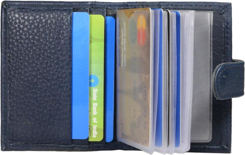 Hide & Sleek 20 Card Holder