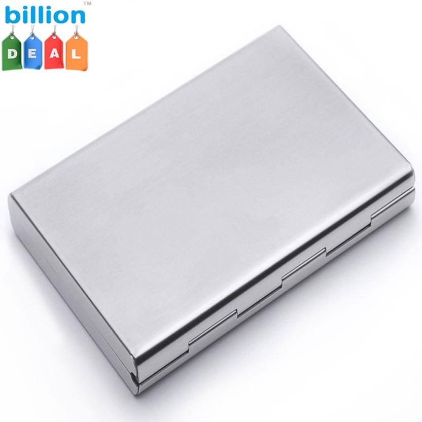billion Deal Steel Wallet Well Looking Men