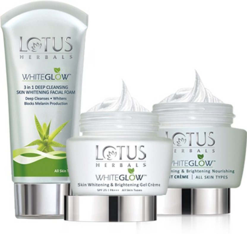Lotus White Glow Day And Night Pack